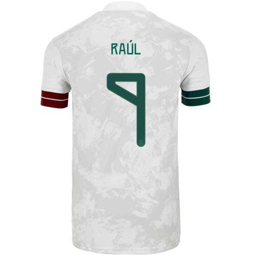 2020 adidas Raul Jimenez Mexico Away Jersey