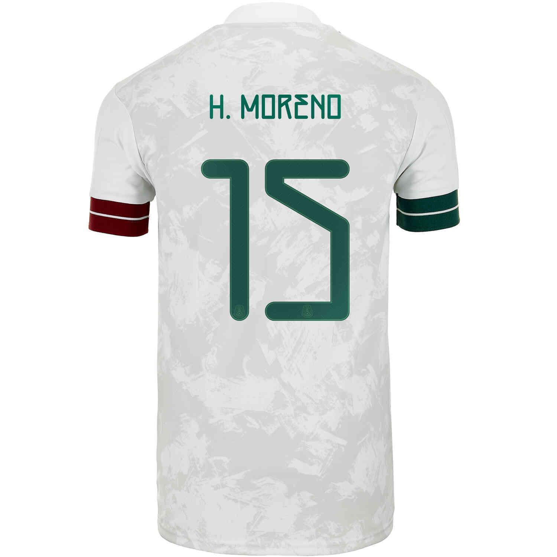 2020 adidas Hector Moreno Mexico Away Jersey - SoccerPro