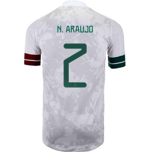2020 adidas Nestor Araujo Mexico Away Authentic Jersey