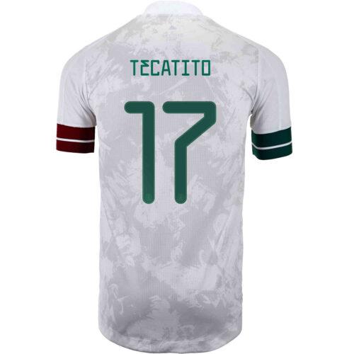 2020 adidas Jesus Manuel Corona Mexico Away Authentic Jersey