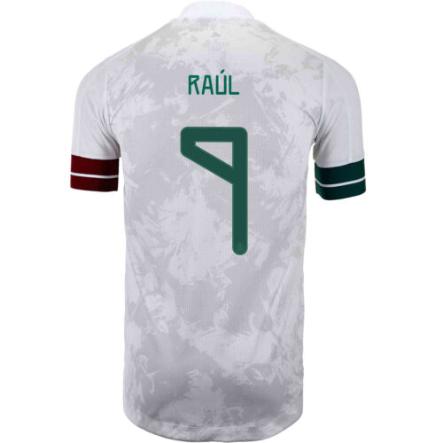 2020 adidas Raul Jimenez Mexico Away Authentic Jersey