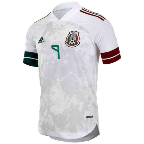 2020 adidas Raul Jimenez Mexico Away Authentic Jersey