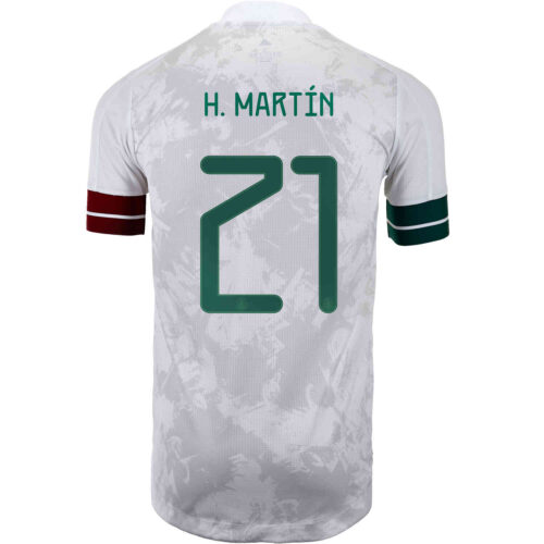 2020 adidas Henry Martin Mexico Away Authentic Jersey