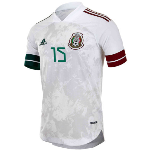 2020 adidas Hector Moreno Mexico Away Authentic Jersey