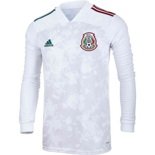 2020 adidas Mexico L/S Away Jersey