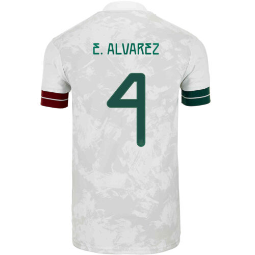 2020 Kids adidas Edson Alvarez Mexico Away Jersey