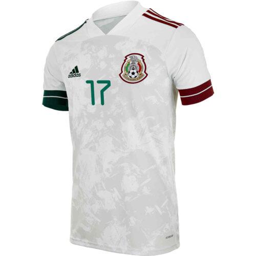 2020 Kids adidas Jesus Manuel Corona Mexico Away Jersey