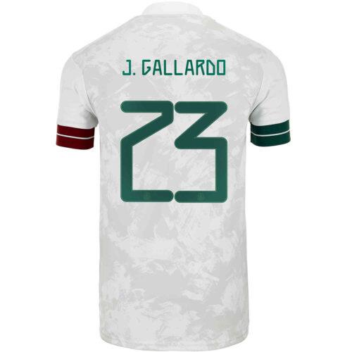 2020 Kids adidas Jesus Gallardo Mexico Away Jersey
