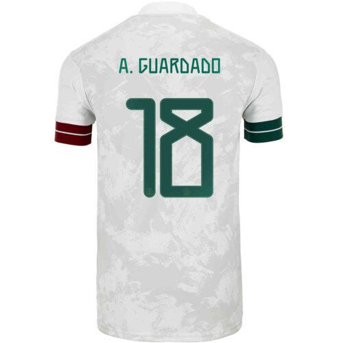2020 Kids adidas Andres Guardado Mexico Away Jersey
