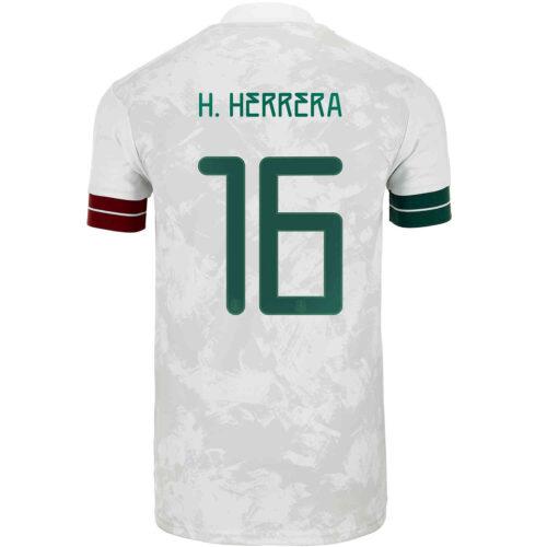 2020 Kids adidas Hector Herrera Mexico Away Jersey