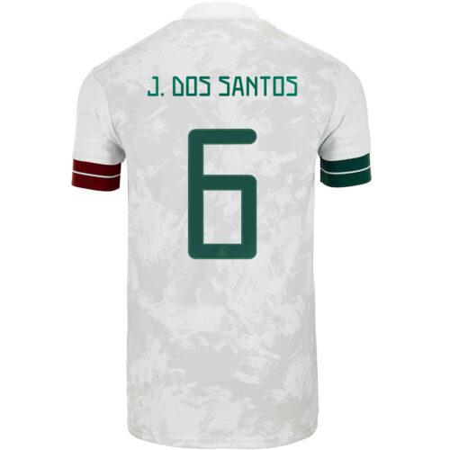 2020 Kids adidas Jonathan dos Santos Mexico Away Jersey