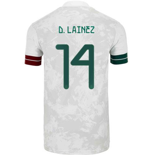 2020 Kids adidas Diego Lainez Mexico Away Jersey