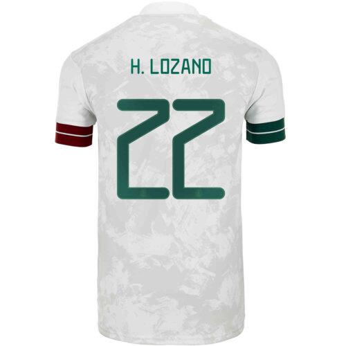 2020 Kids adidas Hirving Lozano Mexico Away Jersey
