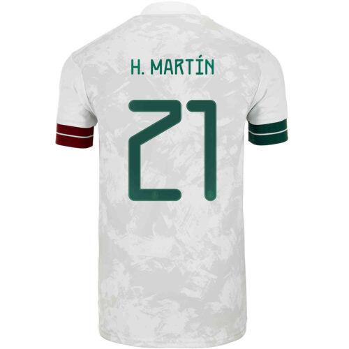 2020 Kids adidas Henry Martin Mexico Away Jersey