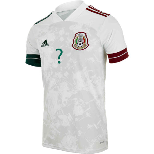 2020 Kids adidas Alan Pulido Mexico Away Jersey