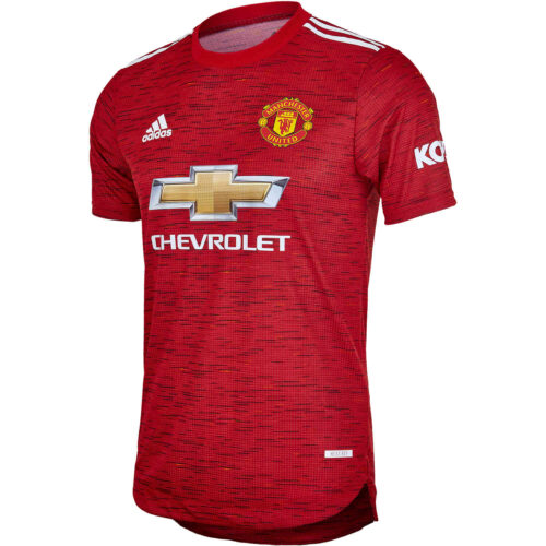 2020/21 adidas Manchester United Home Authentic Jersey