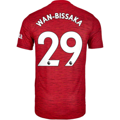 2020/21 adidas Aaron Wan-Bissaka Manchester United Home Authentic Jersey