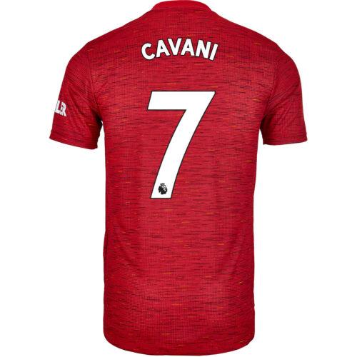 2020/21 adidas Edinson Cavani Manchester United Home Authentic Jersey