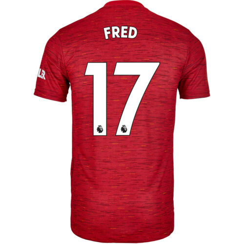 2020/21 adidas Fred Manchester United Home Authentic Jersey