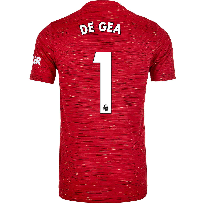 2020/21 adidas David De Gea Manchester United Home Jersey - SoccerPro