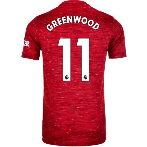 2020/21 adidas Mason Greenwood Manchester United Home Jersey