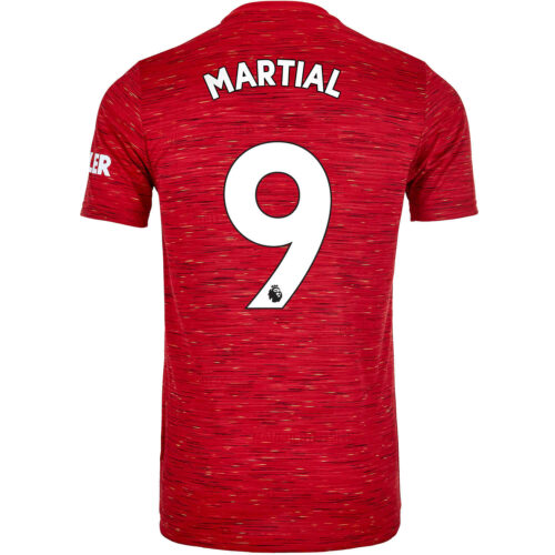 2020/21 adidas Anthony Martial Manchester United Home Jersey
