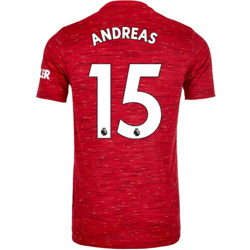 2020/21 adidas Andreas Pereira Manchester United Home Jersey