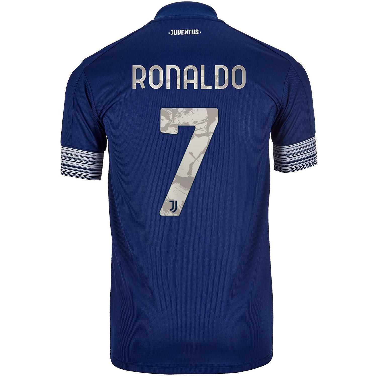 2020 21 Adidas Cristiano Ronaldo Juventus Away Jersey Soccerpro