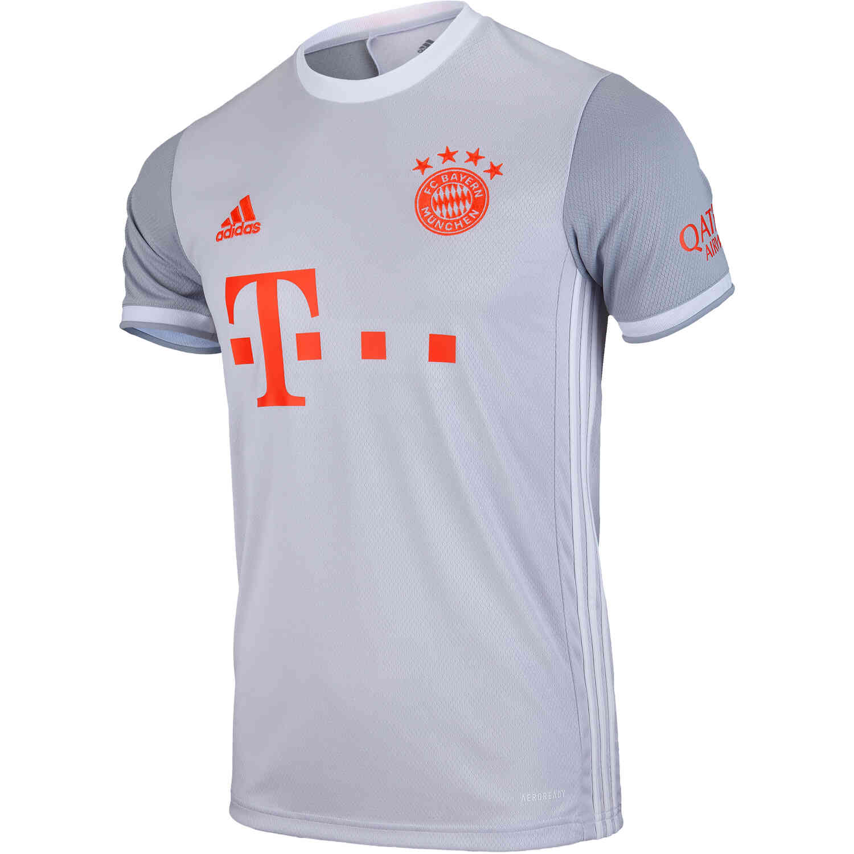 adidas Bayern Munich Away Jersey – Dash Grey/White