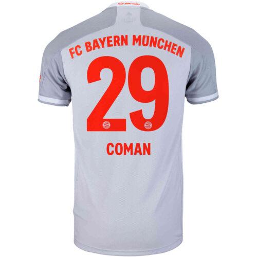 2020/21 adidas Kingsley Coman Bayern Munich Away Jersey