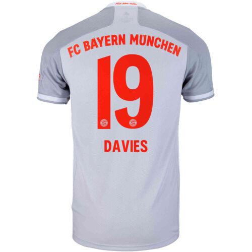 2020/21 adidas Alphonso Davies Bayern Munich Away Jersey