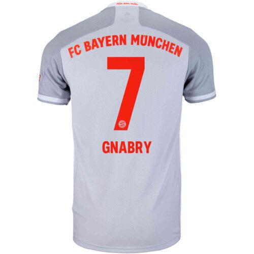 2020/21 adidas Serge Gnabry Bayern Munich Away Jersey