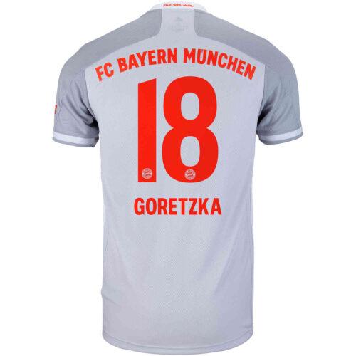 2020/21 adidas Leon Goretzka Bayern Munich Away Jersey