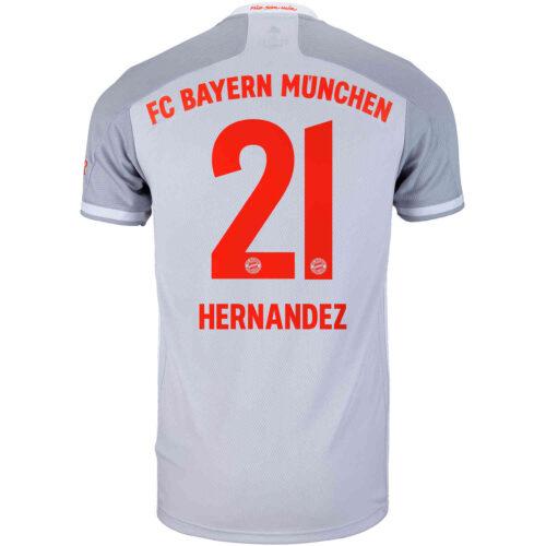 2020/21 adidas Lucas Hernandez Bayern Munich Away Jersey