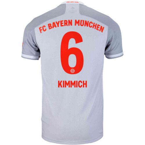 2020/21 adidas Joshua Kimmich Bayern Munich Away Jersey