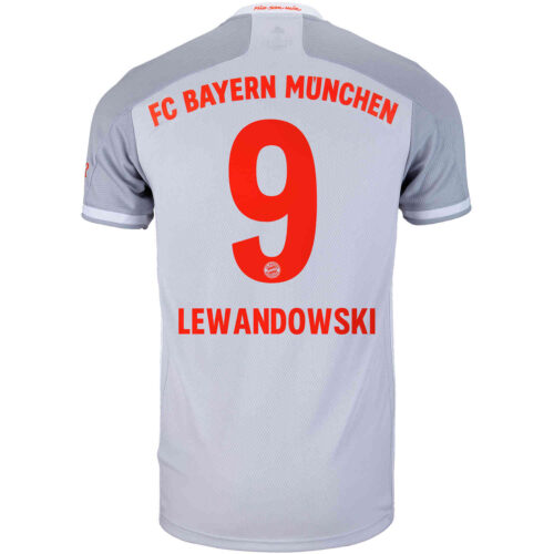 2020/21 adidas Robert Lewandowski Bayern Munich Away Jersey
