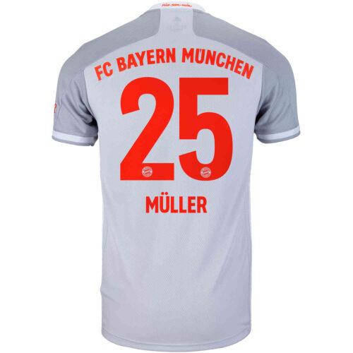 2020/21 adidas Thomas Muller Bayern Munich Away Jersey