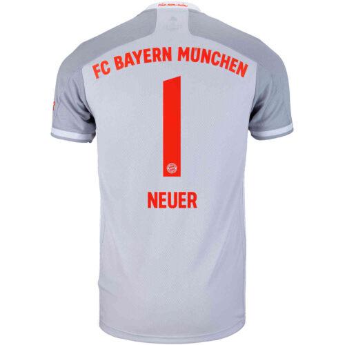 2020/21 adidas Manuel Neuer Bayern Munich Away Jersey