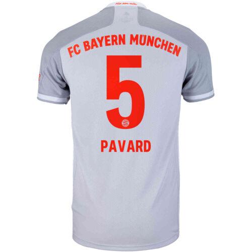 2020/21 adidas Benjamin Pavard Bayern Munich Away Jersey