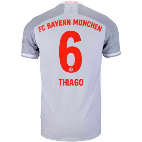 2020/21 adidas Thiago Bayern Munich Away Jersey