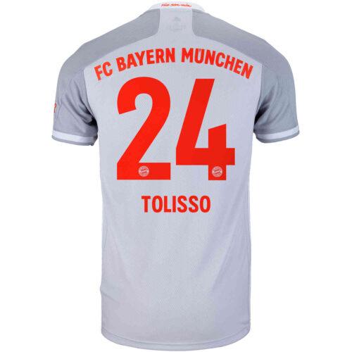 2020/21 adidas Corentin Tolisso Bayern Munich Away Jersey