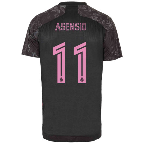 2020/21 adidas Marco Asensio Real Madrid 3rd Authentic Jersey