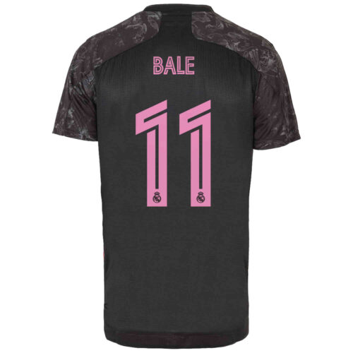 2020/21 adidas Gareth Bale Real Madrid 3rd Authentic Jersey