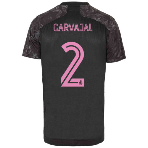 2020/21 adidas Dani Carvajal Real Madrid 3rd Authentic Jersey
