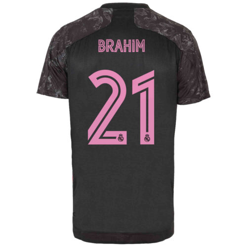2020/21 adidas Brahim Diaz Real Madrid 3rd Authentic Jersey