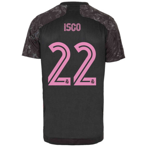 2020/21 adidas Isco Real Madrid 3rd Authentic Jersey
