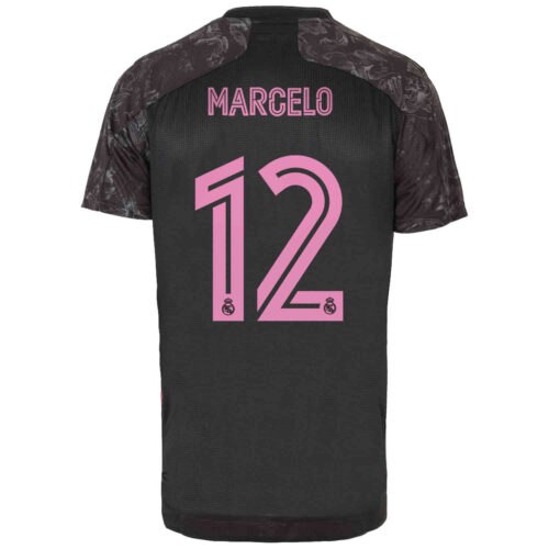 2020/21 adidas Marcelo Real Madrid 3rd Authentic Jersey