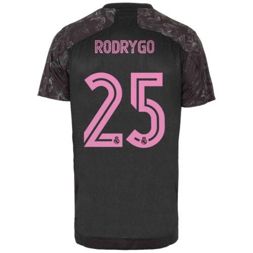 2020/21 adidas Rodrygo Real Madrid 3rd Authentic Jersey