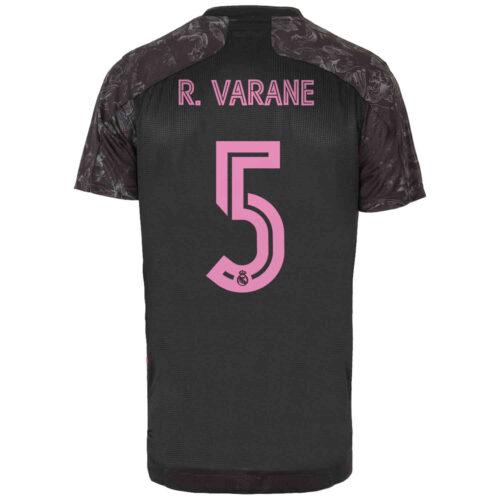 2020/21 adidas Raphael Varane Real Madrid 3rd Authentic Jersey