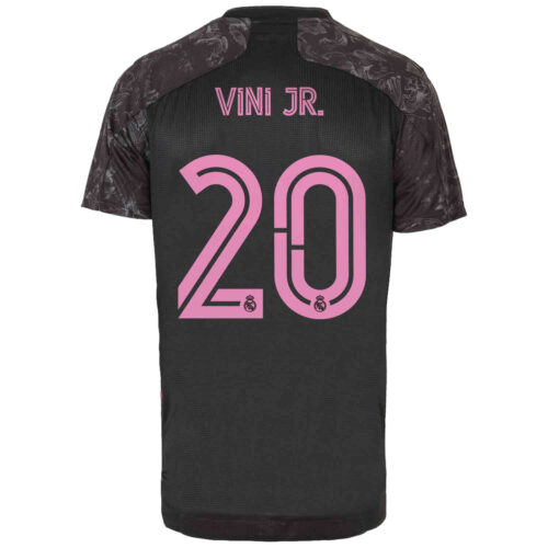 2020/21 adidas Vinicius Junior Real Madrid 3rd Authentic Jersey